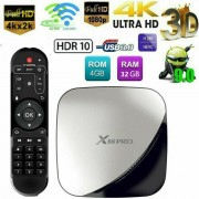 Медиа плеър X88 PRO 4GB/32GB, Android 9, 4K HDR/3D TV Box WiFi, RK3318