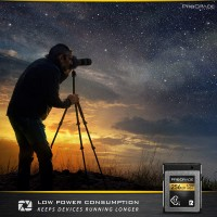 128 GB CFEXPRESS™ 2.0 TYPE B MEMORY CARD, скорост 1700 MB/s, за професионални фотографи
