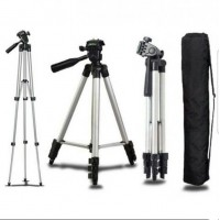 Статив/триножник, за фотоапарат, камера,GSM, алуминиев -129 см