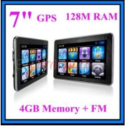 "7"" GPS НАВИГАЦИЯ, 128 MB, 4GB, FM, Windows CE"