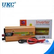 Висококачeствен инвертор за камион UKC 24V-220V, 2000W