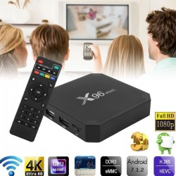 Мултимедия плеър X96 Mini Amlogic S905 TV Box Android 7.1, 4K 4GB/32GB