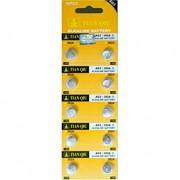 10 броя батерии тип AG3/LR41