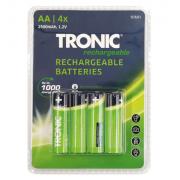 4 броя акумулаторни батерии АА 2500 maAh